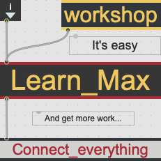 MAX workshop for beginners